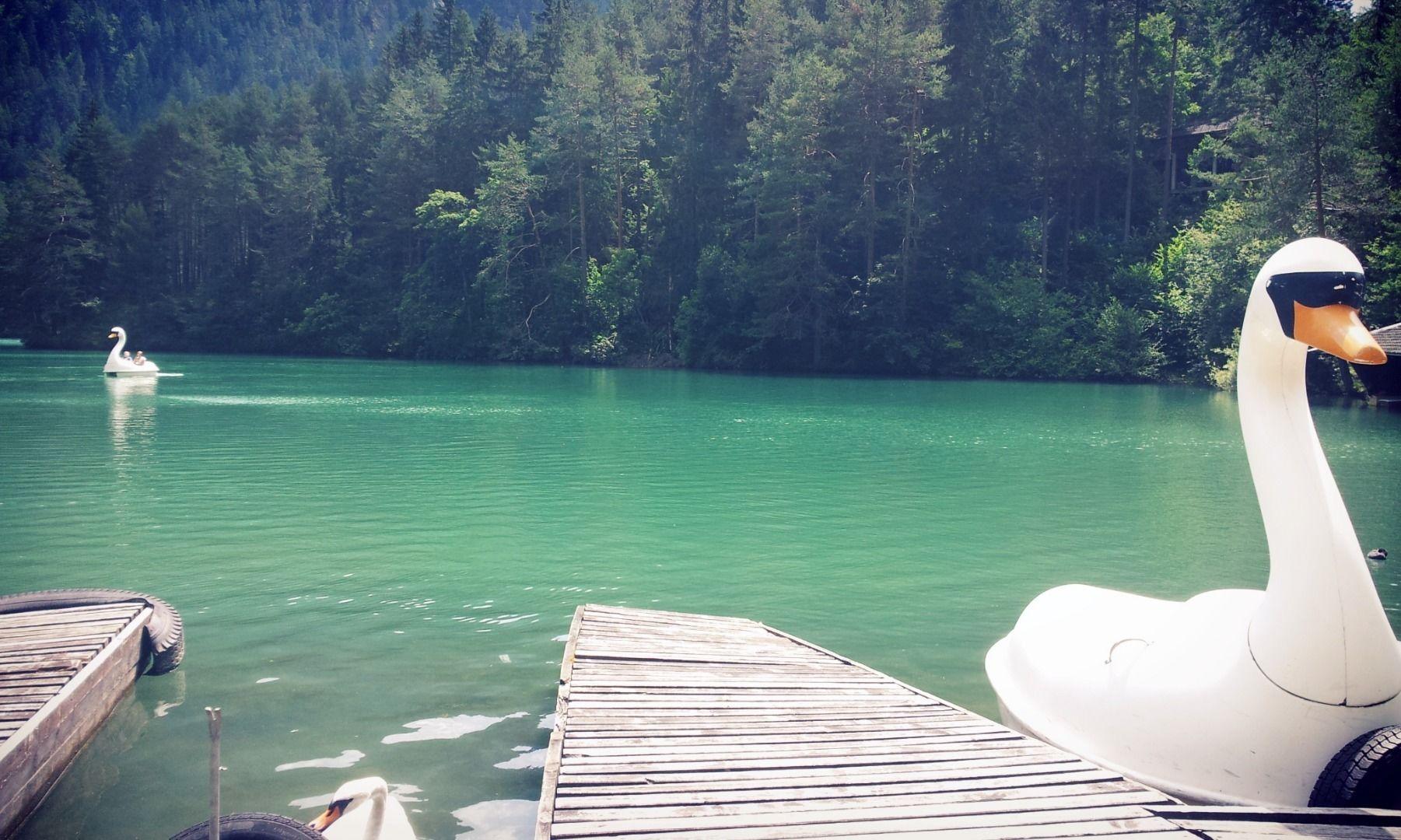 Boat rental at lake Fernsteinsee