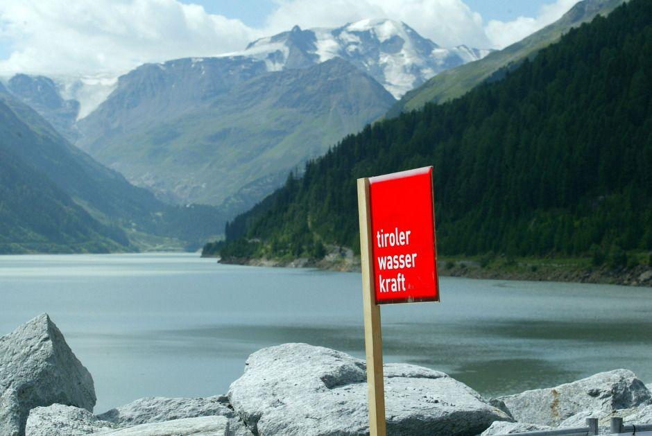 Stromgewinnung  am Inn – TIWAG Kraftwerk Imst