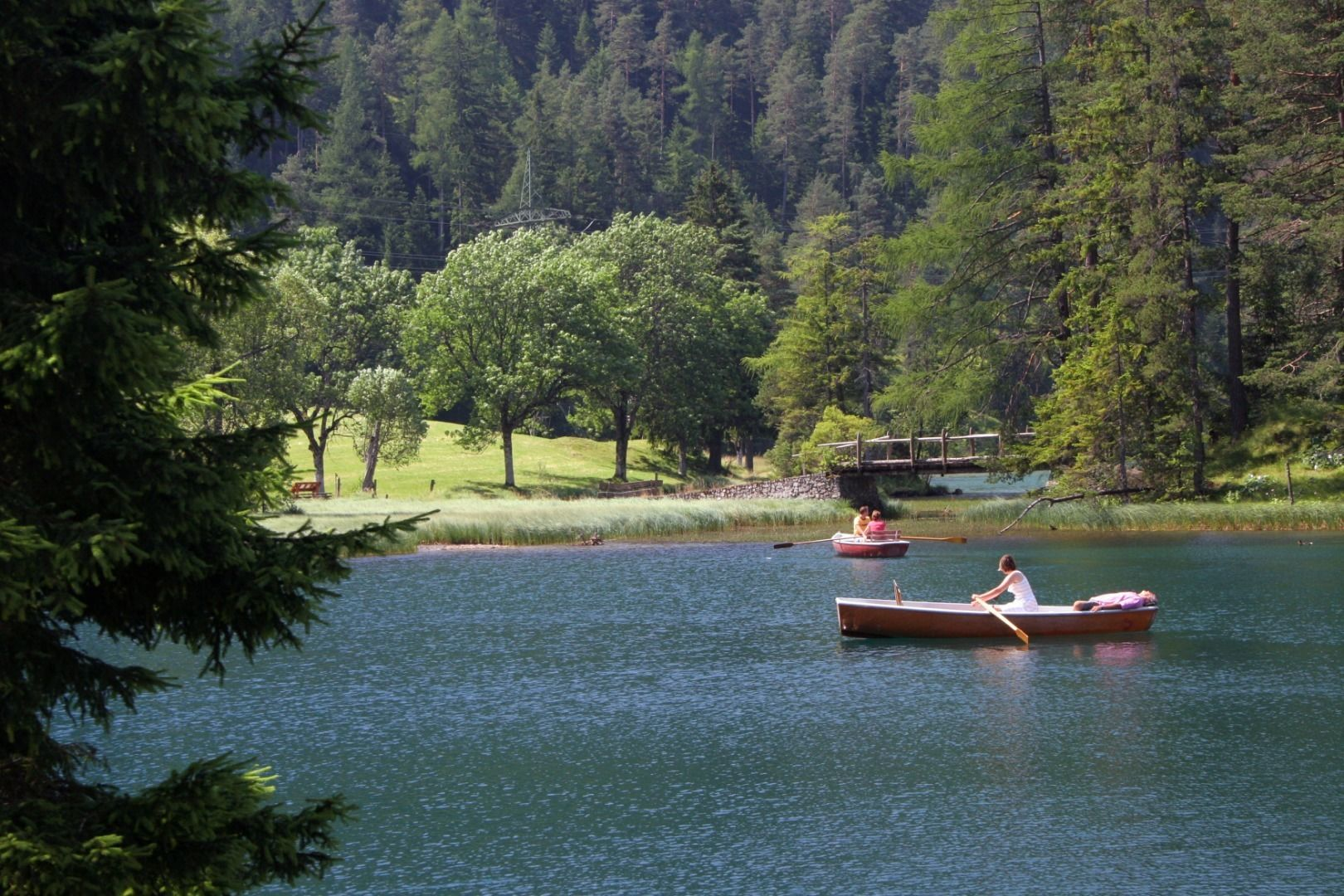 Lake Fernsteinsee and Afrigal