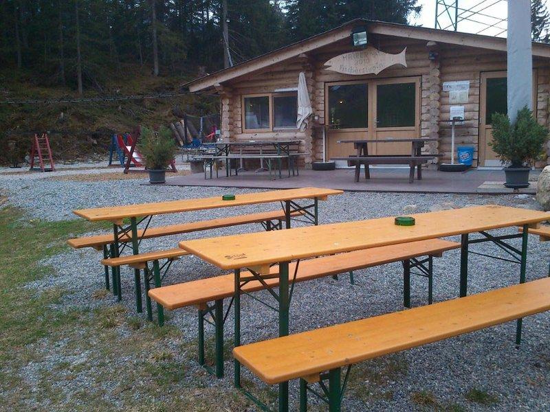 Jausenstation Fischteich Piller (1.400 m)