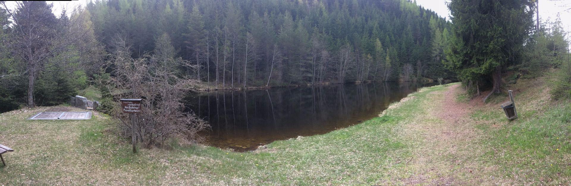 Piller landscaped pond