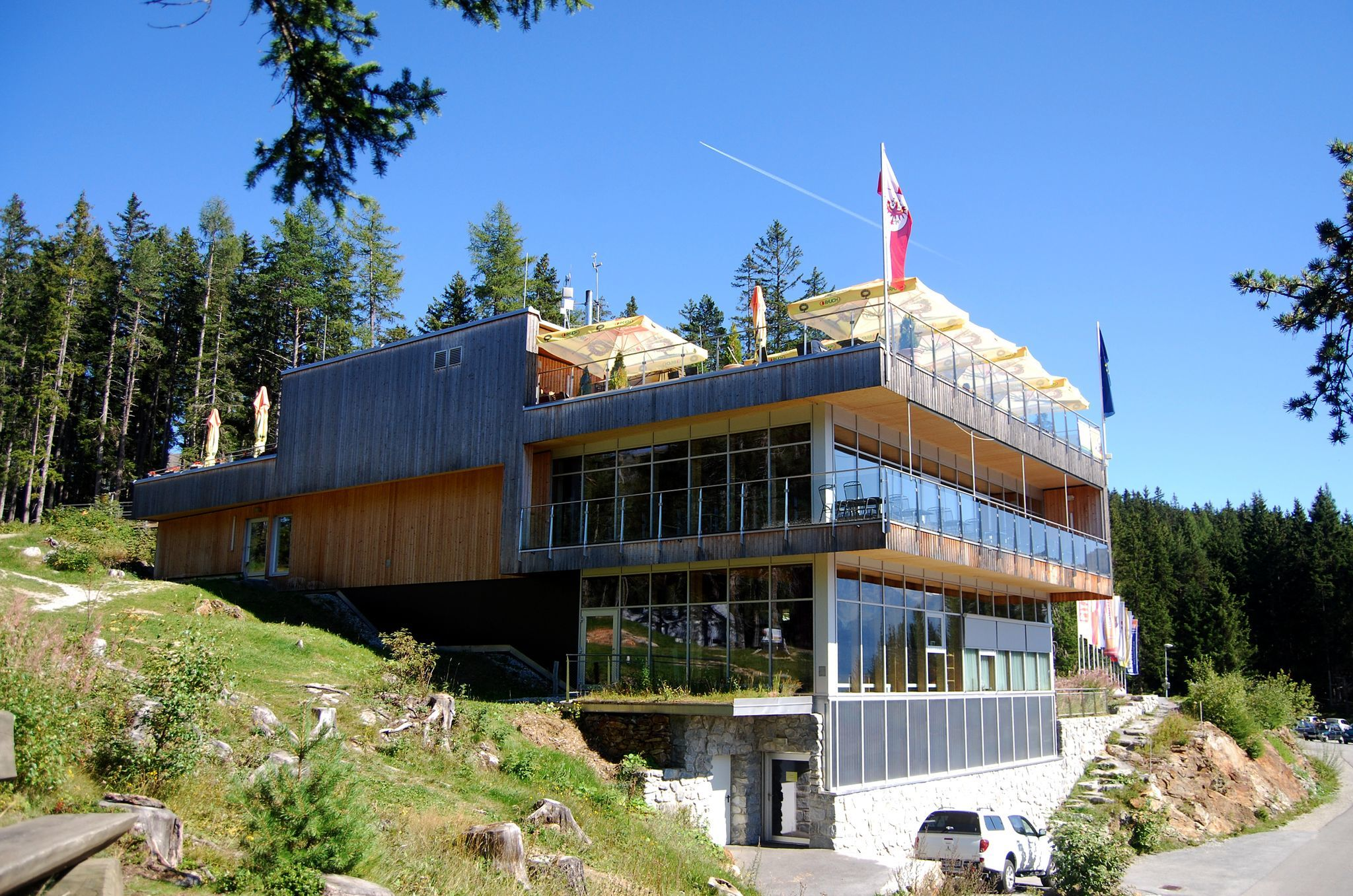 Nature Park House Kaunergrat - e-bike charging station