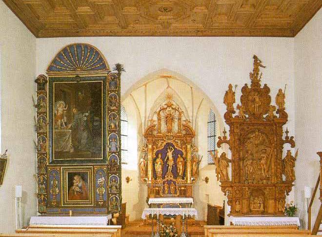 Burschlkirche - Pest church