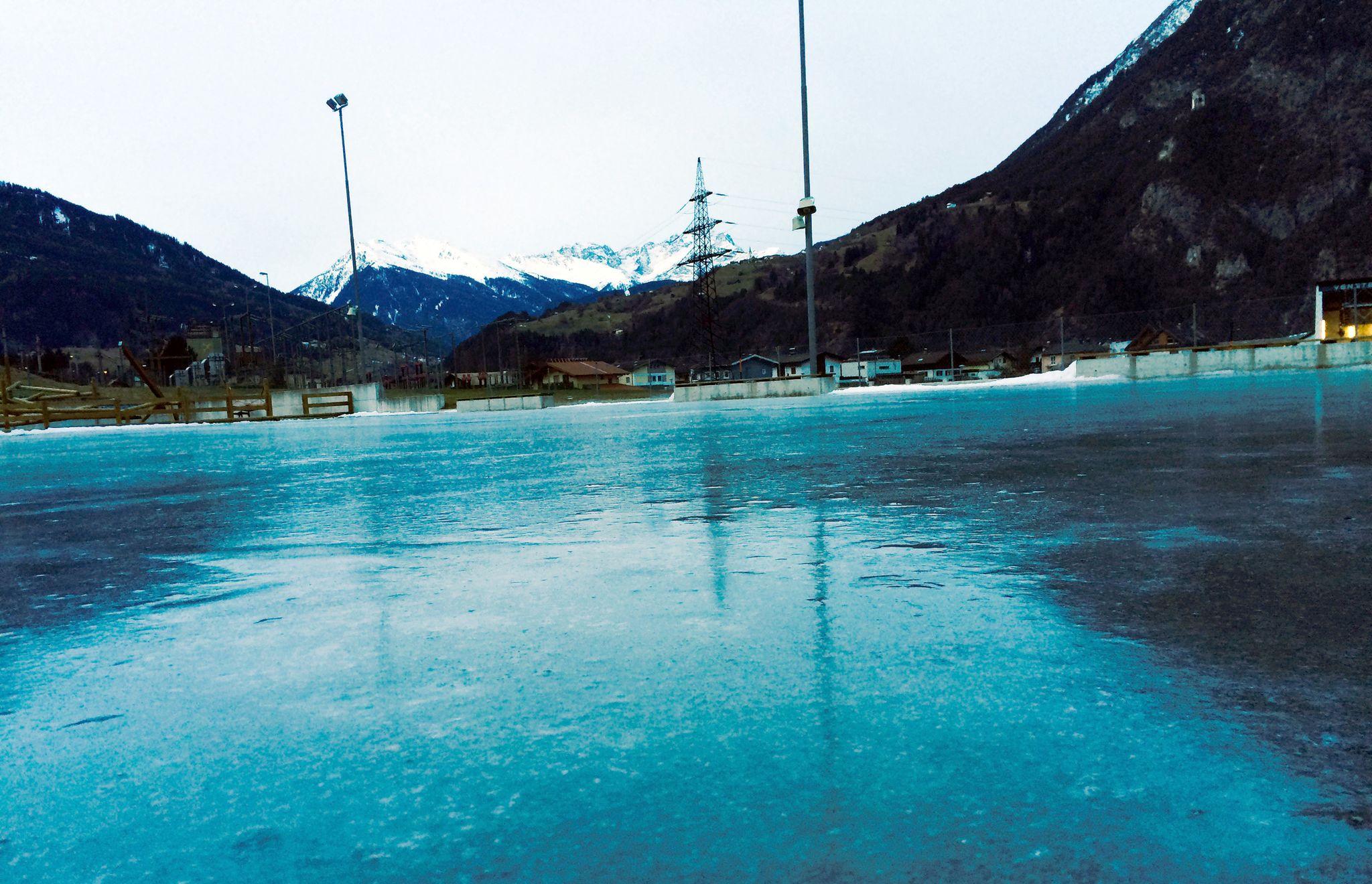 Eislaufplatz Riefe - Zams