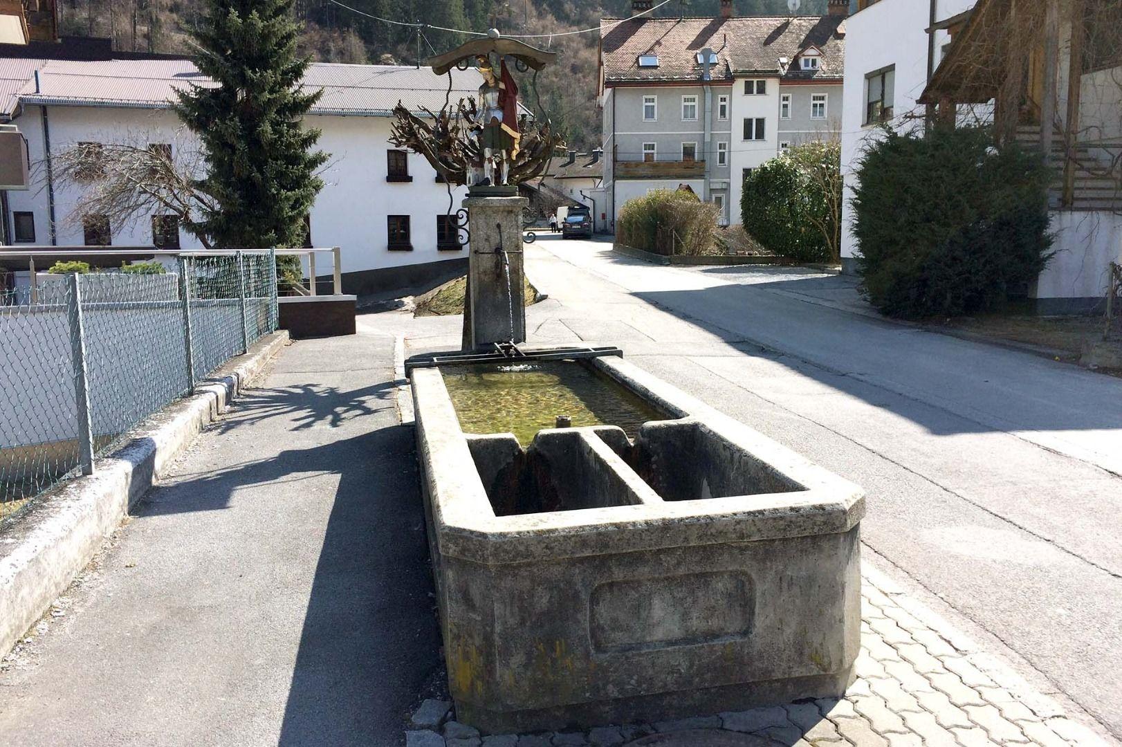 Fountain Bachgasse Zams