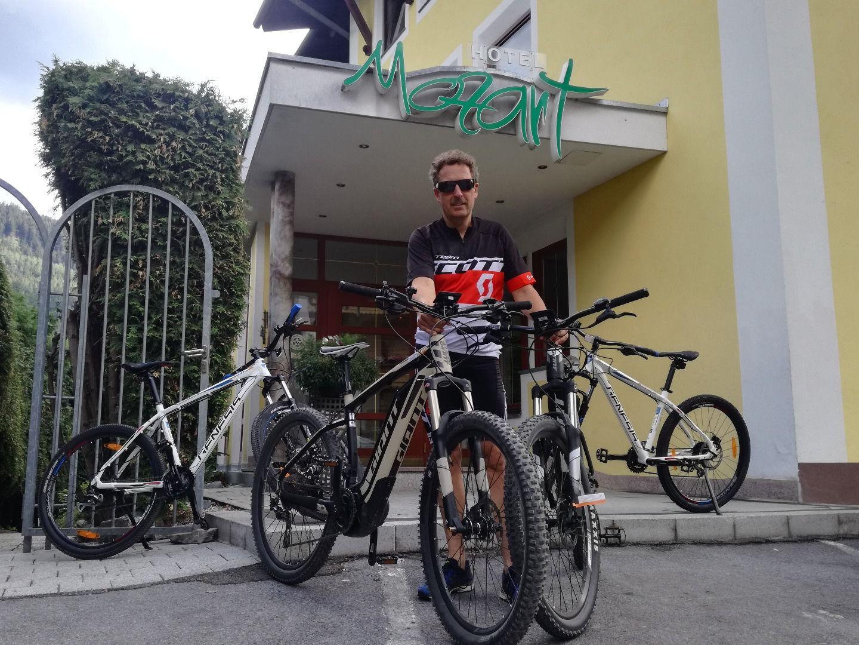 Bike rental - Hotel Mozart
