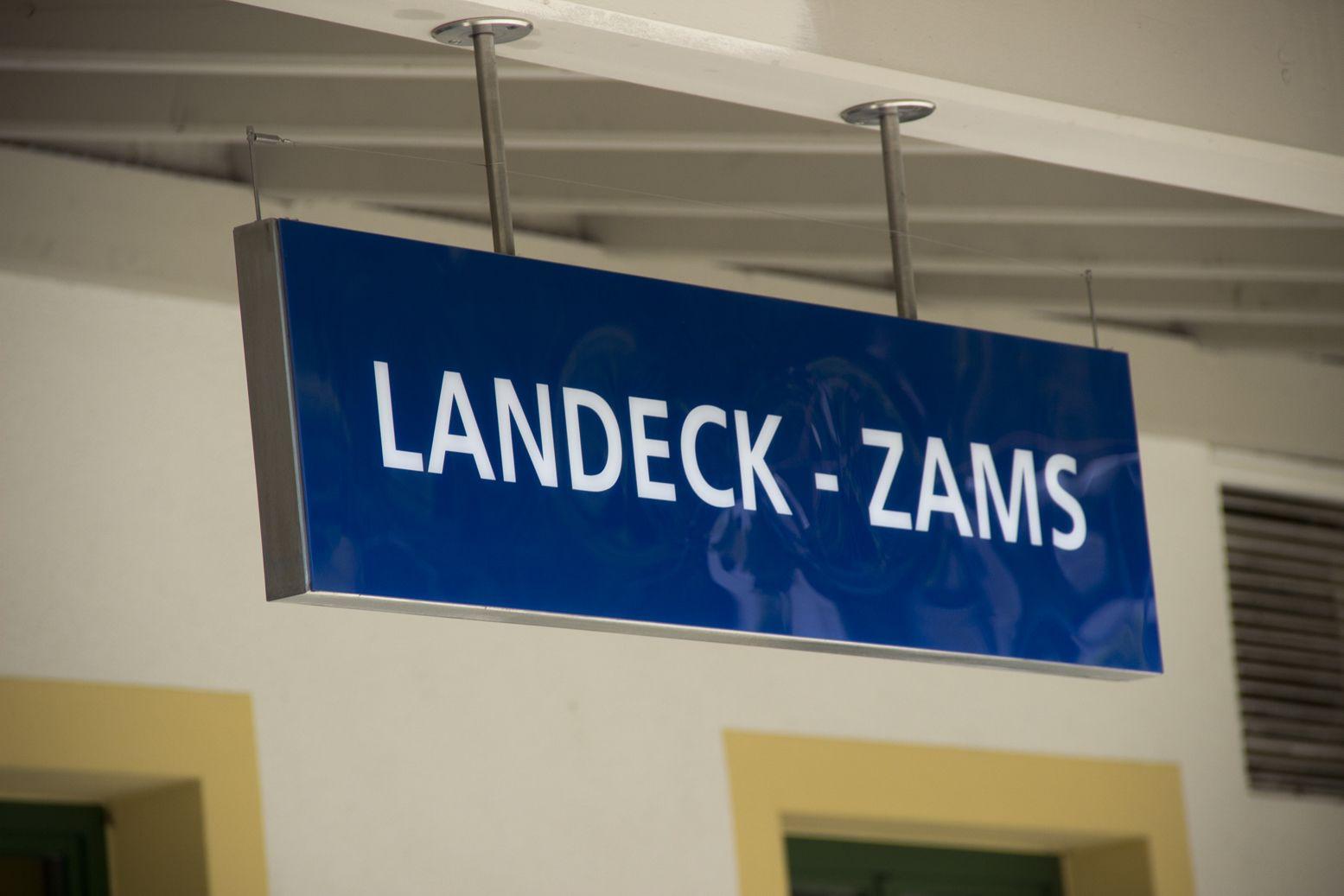 Landeck-Zams railway station