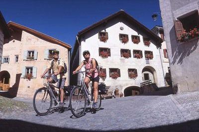 Inn Cycle Path  Maloja Pass  CH  - Landeck