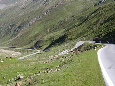 Brennerpass - Jaufenpass - Timmelsjoch Rundfahrt