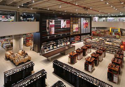 The Grissemann   shopping center   Zams