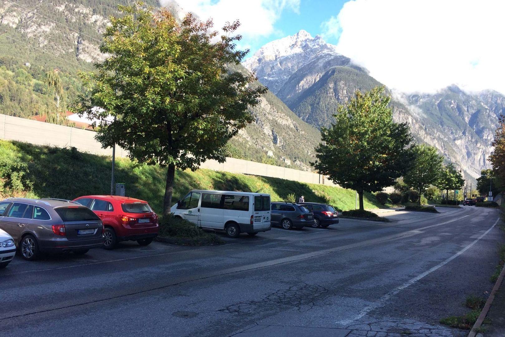 Parkplatz äußere Malserstraße