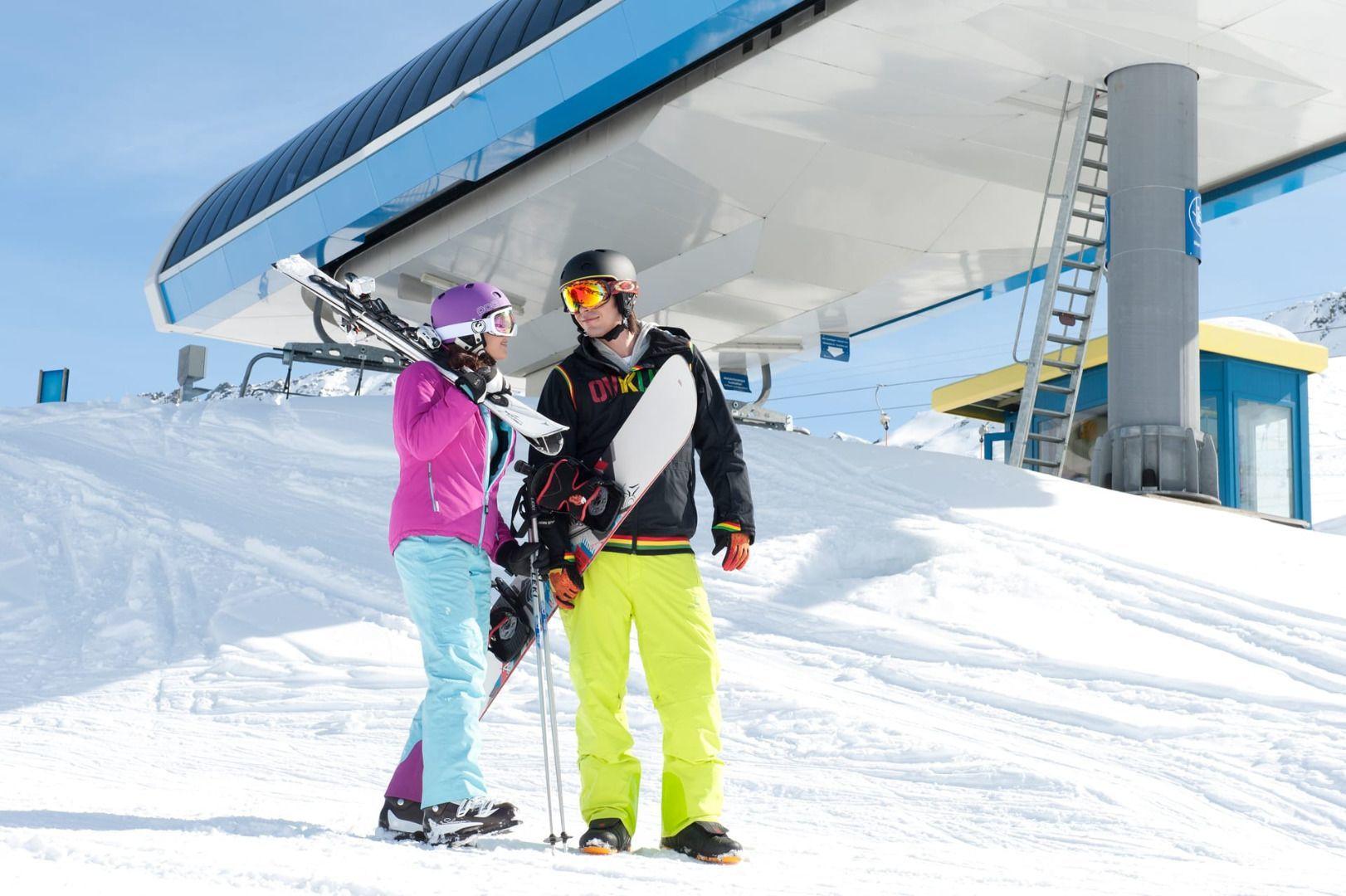 Ski area See