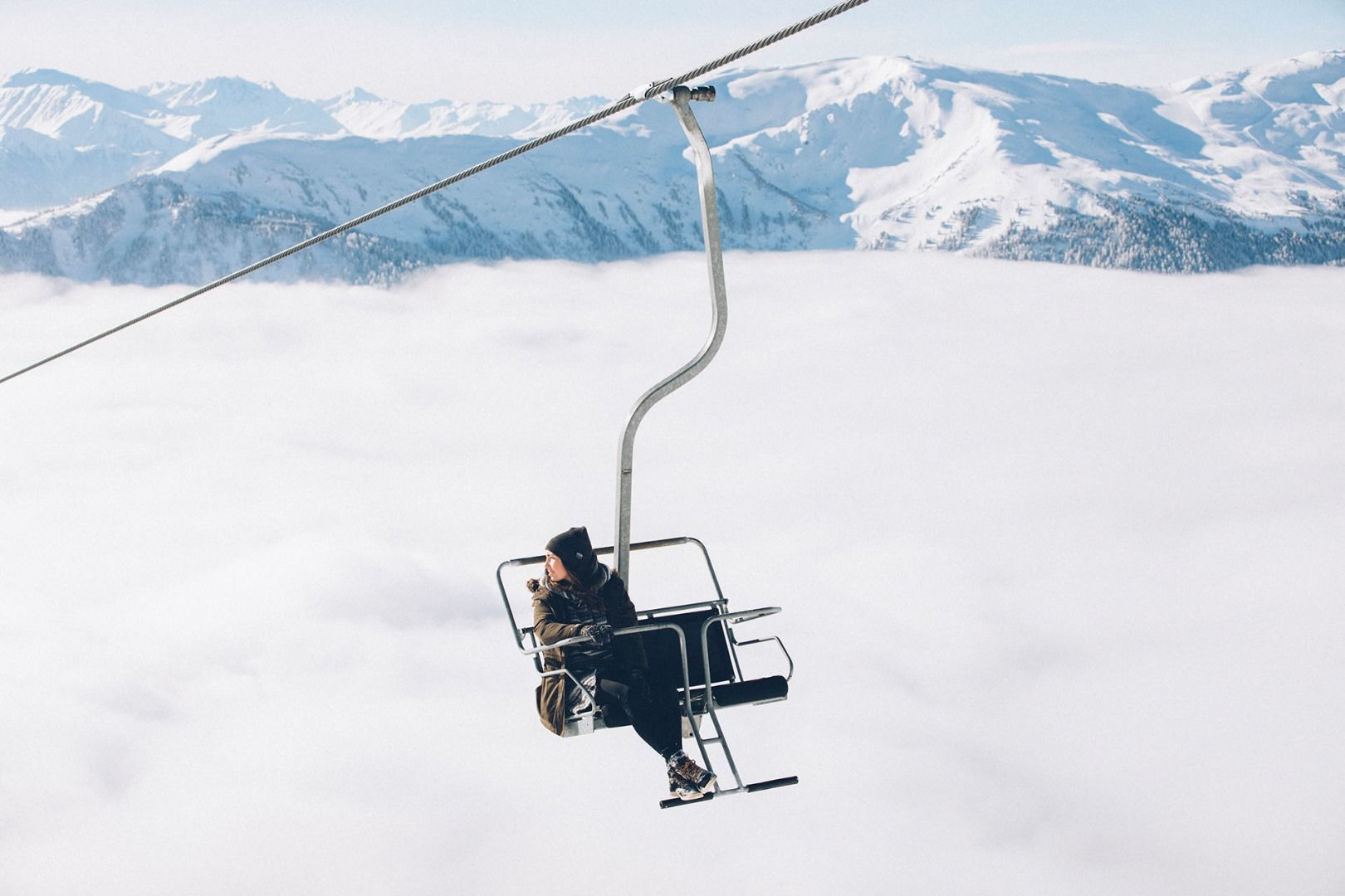 Ski area Venet