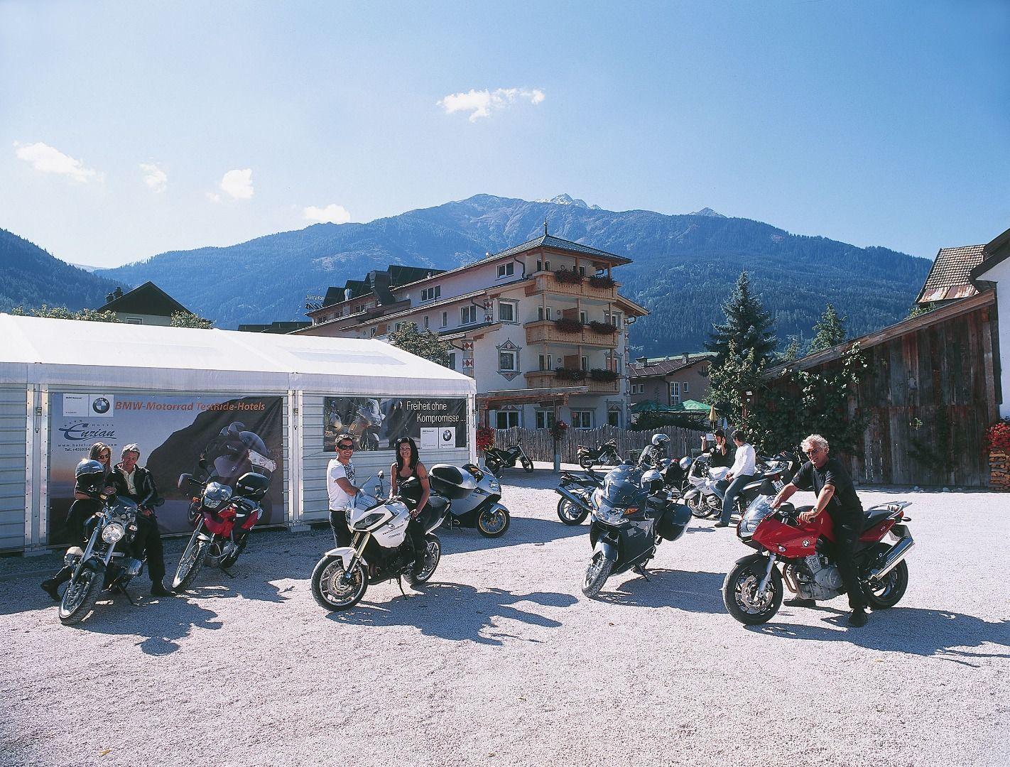 Hotel Enzian - Motorrad-Verleih
