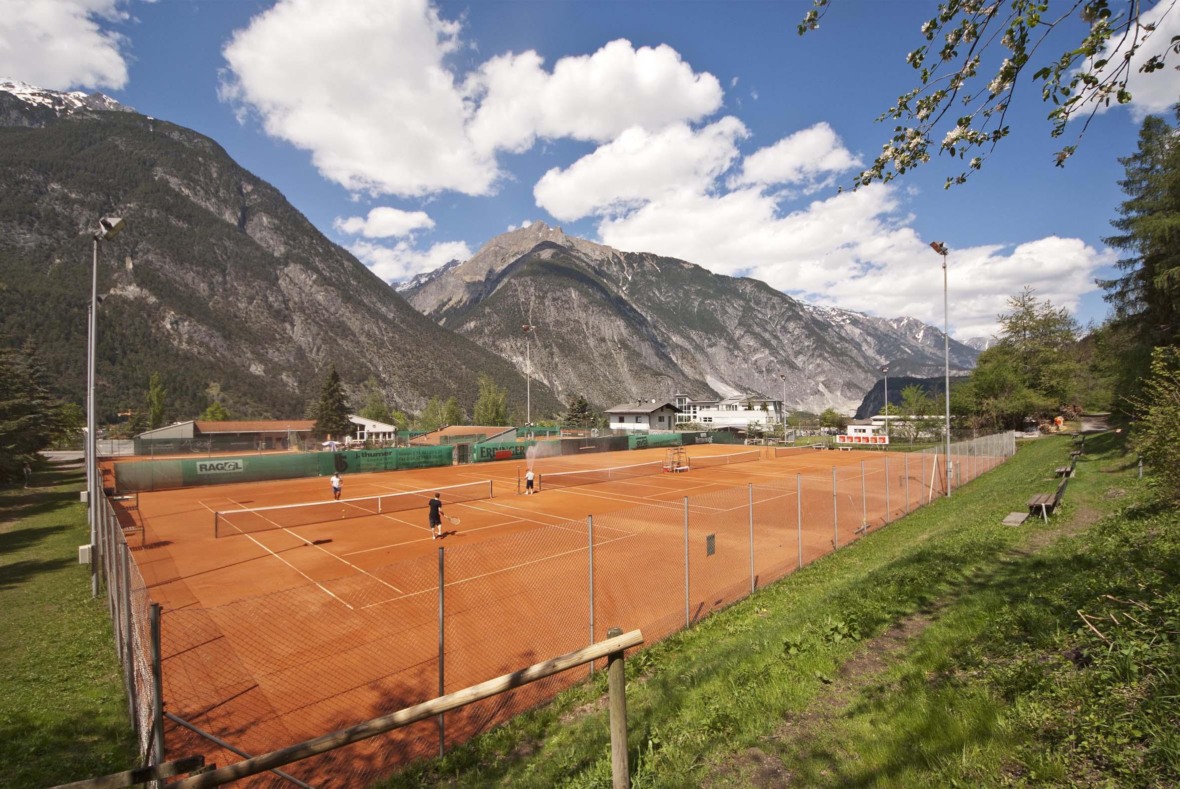 Tennisplatz Landeck