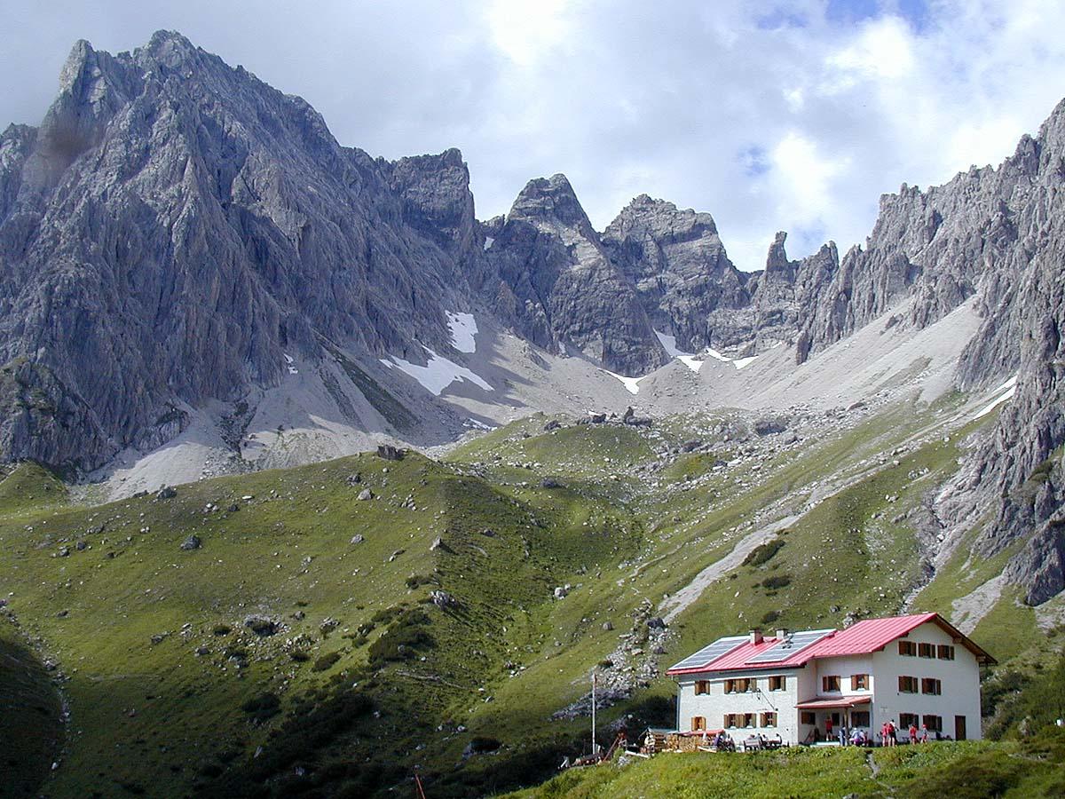 Steinseehütte (2.061 m)