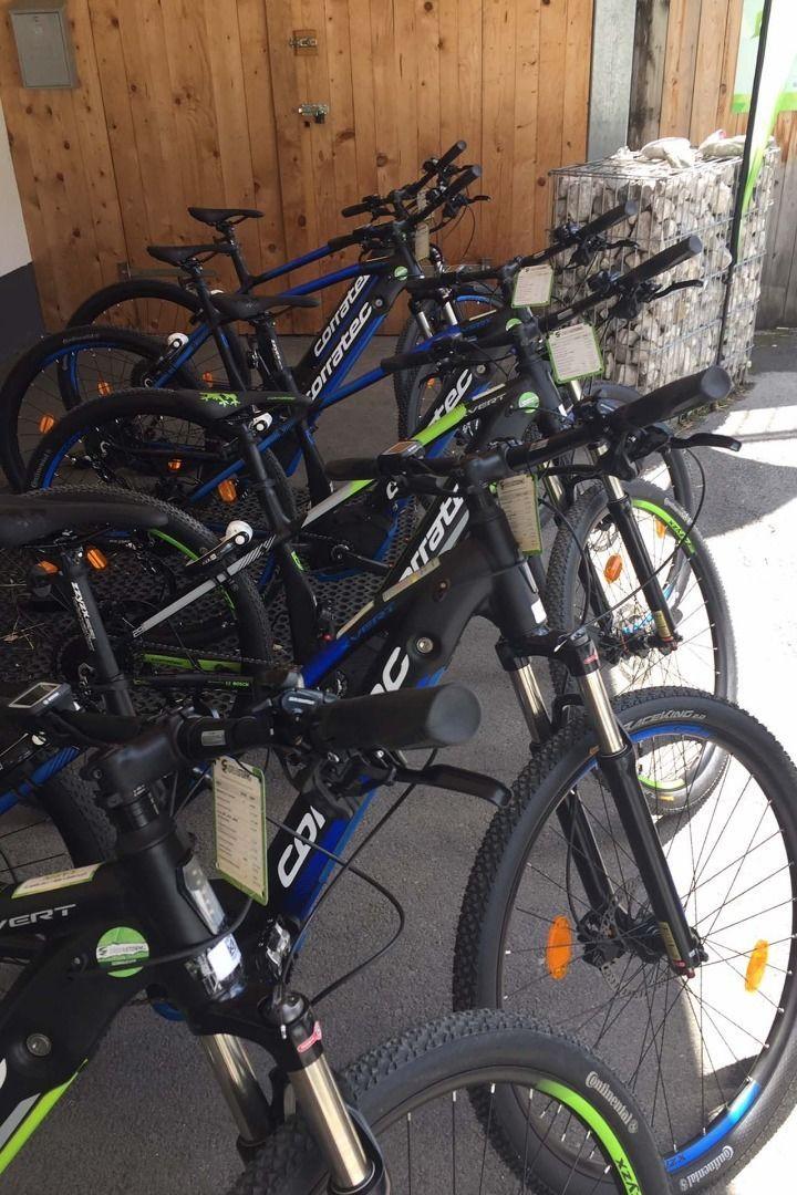 Outdoor Zone GREEN4RENT- E-Bike Verleih