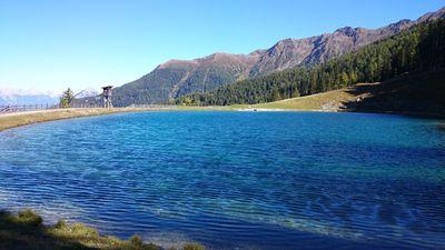 Storage pond Zammer Alm