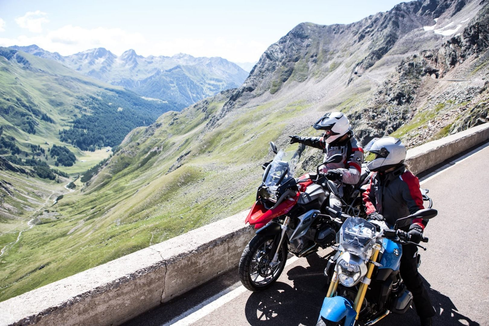 Guided motorcycle tours