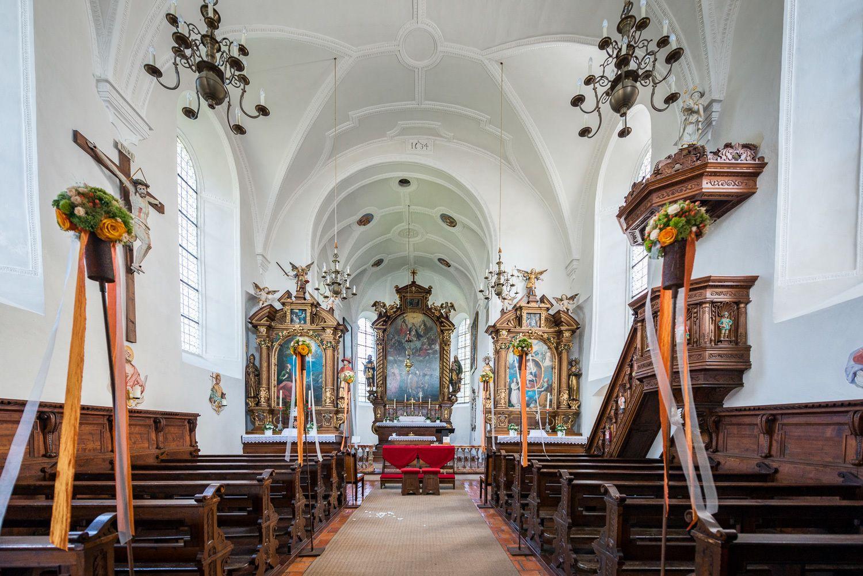 Burgkirche Freundsberg Hl. Sebastian und Rochus Schwaz