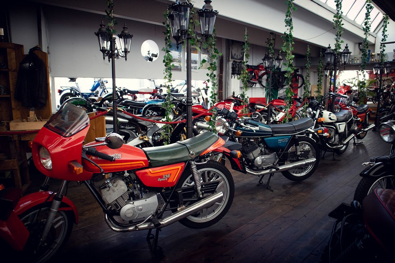 Motorcycle Museum.