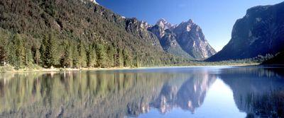 Toblacher See, Hochpustertal, Südtirol