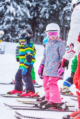 Learning to ski at Kolsassberg