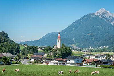 Summer in Buch in Tyrol