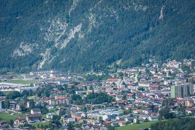 Ausblick auf Jenbach