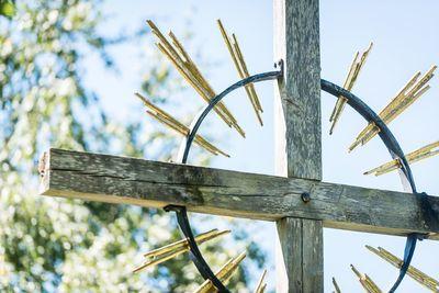 Cross at cemetery of the parish church Weerberg