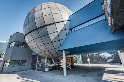 Exterior view of the Planetarium