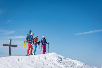 Skitour Gilfert from Weerberg via Nonsberg 2