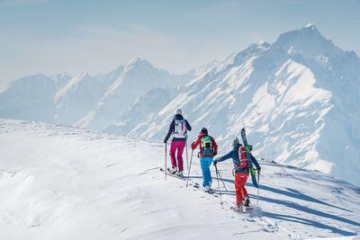 Skitour Gilfert from Weerberg via Nonsberg 1