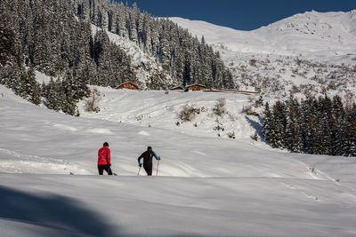 Winter sports in the Silberregion Karwendel