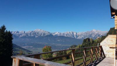 Ausblick von der Sonnberghütte