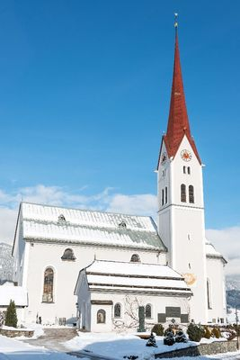 The church in winter