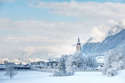 Buch in Tirol im Winter