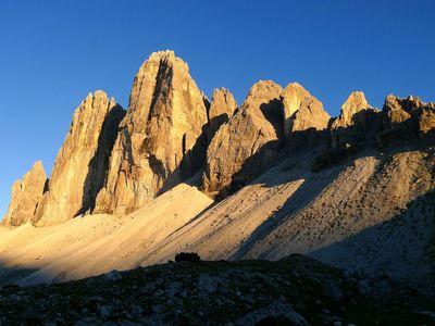 The Three Peaks of the Dolomites