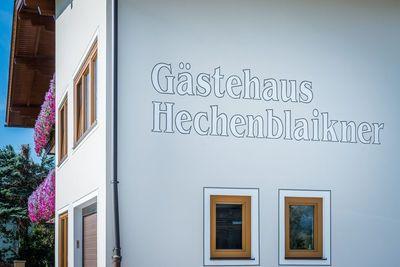 Gästehaus Hechenblaikner 3