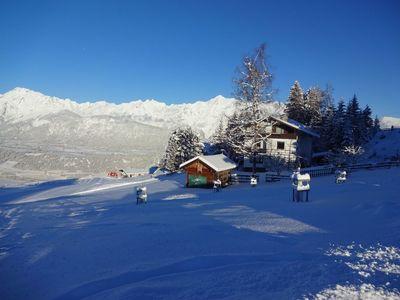 Looshaus im Winter