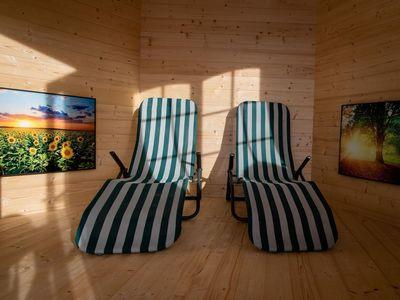Pavillon relexation room