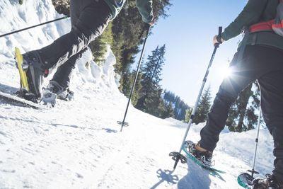 Schneeschuhwanderung Gamsstein