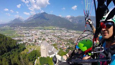 tandem above Schwaz