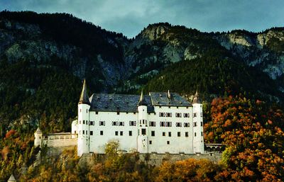 From Stans to Tratzberg Castle 1