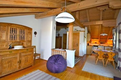 Flat Lavendel living kitchen