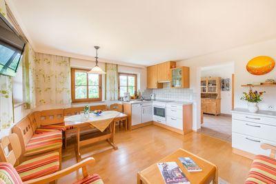 Flat Ringelblume living kitchen