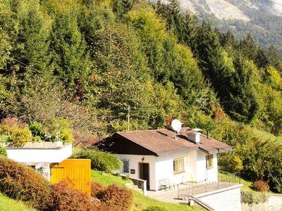 Blick auf Ferienhaus Cristina