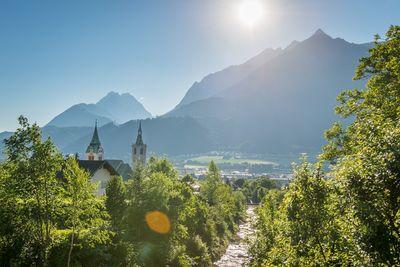 Schwaz in the summer