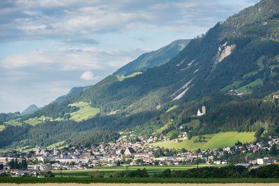 Summer landscape in Schwaz