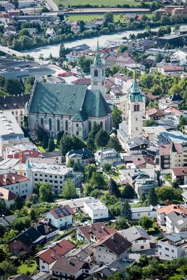 The old town of Schwaz